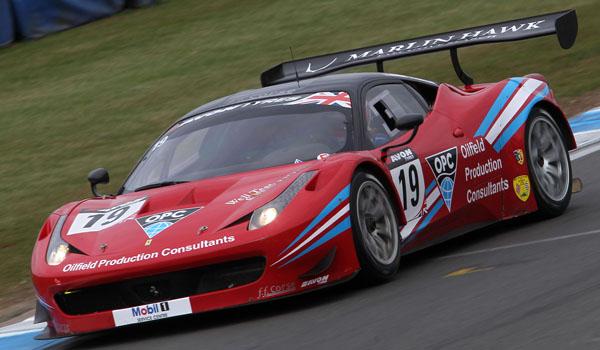 Ron Johnson / Piers Johnson FF Corse Ferrari 458 Italia